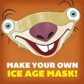 Make Your own Ice Age Mask!